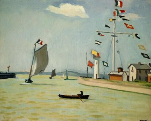 Albert Marquet. Port in Honfleur