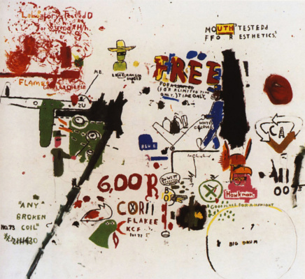 Jean-Michel Basquiat. To be successful