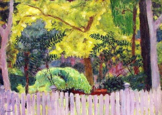 Пьер Боннар. Фиолетовый забор