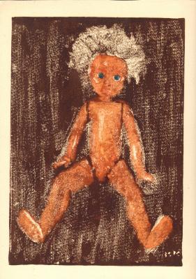 Вячеслав Крыжановский. Doll sitting