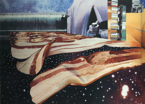 James Rosenquist. Plot 4