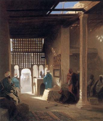 Karl Theodor Frer. Moorish café