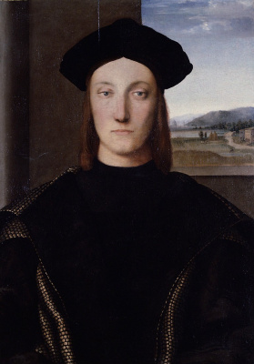 Raphael Santi. Gvidobaldo Montefeltro