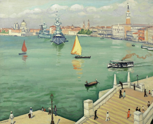 Albert Marquet. The Grand canal in Venice