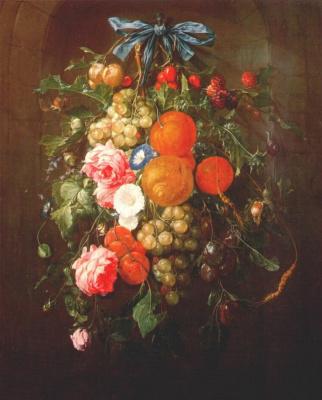 Корнелис де Хем. Натюрморт с цветами