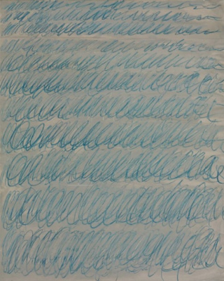 Sai Twombly. Untitled