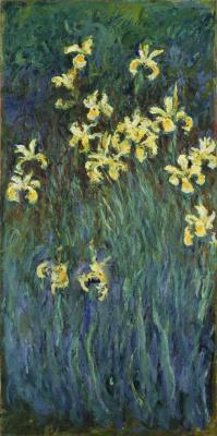 Claude Monet. Yellow iris