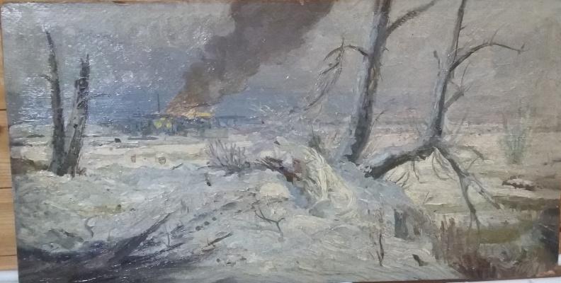 Анатолий Владимирович Трескин. Defense of Leningrad