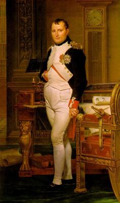 Жак-Луи Давид. Наполеон в своем кабинете