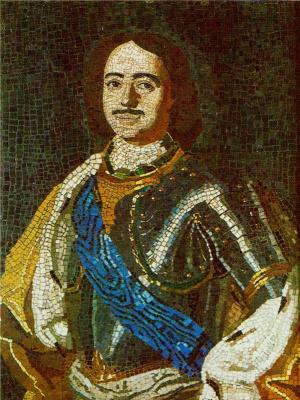 Mikhail Vasilyevich Lomonosov. Peter I