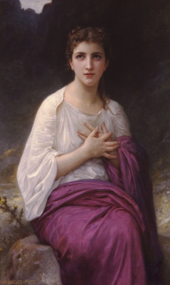 William-Adolphe Bouguereau. Psyche