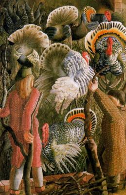 John Roddem Spencer-Stanhope. Turkeys