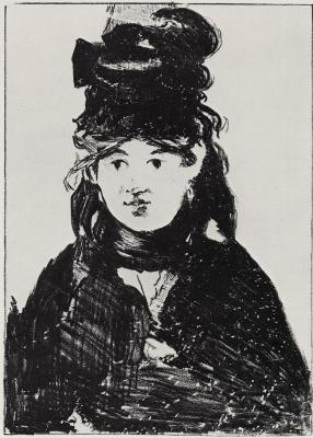 Edouard Manet. Portrait By Berthe Morisot