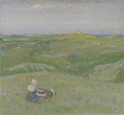 Jan (Johannes) Theodore Thorop. In the dunes near Domburg