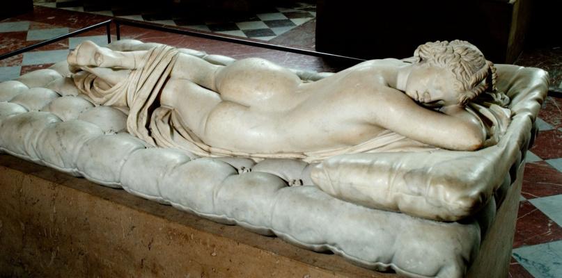 Gian Lorenzo Bernini. Sleeping Hermaphrodite