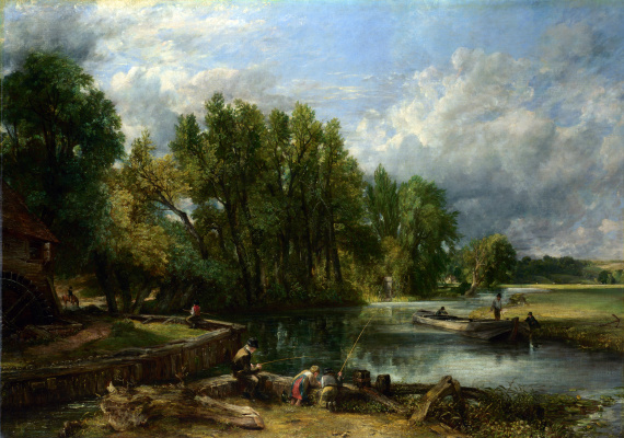 John Constable. The windmill in Stratford