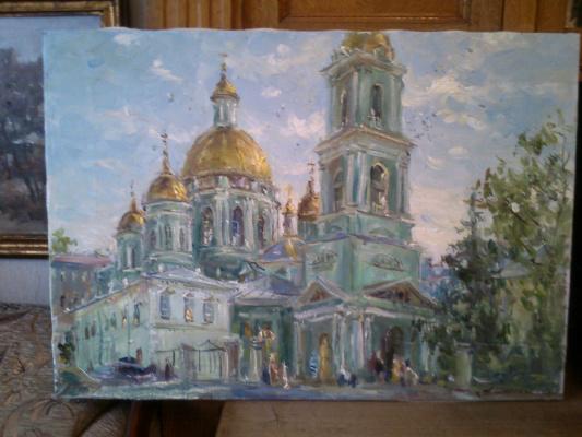 Андрей Михайлович Широков. Богоявленский собор.Елоховский
