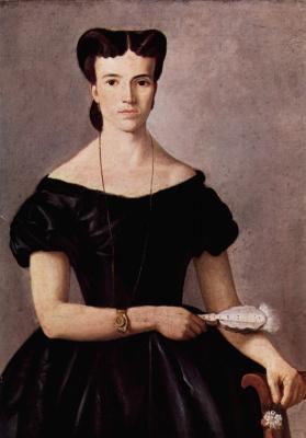 Giovanni Fattori. Lady with fan