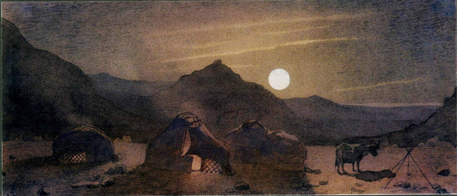 Taras Grigorievich Shevchenko. Moonlit night among the mountains