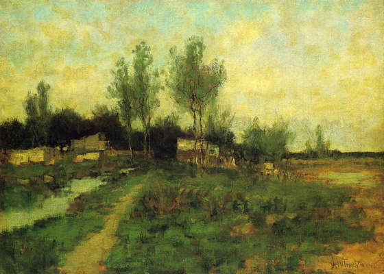 John Henry Twachtman. The country's path