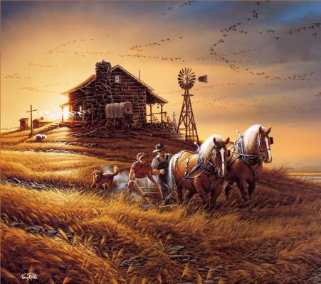 Терри Редлин. Сбор урожая