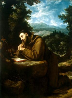 Лодовико Карди Чиголи. Святой Франциск
