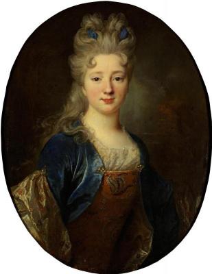 Никола де Ларжильер. Женский портрет