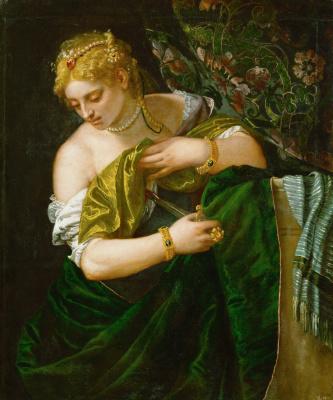 Paolo Veronese. Lucretia