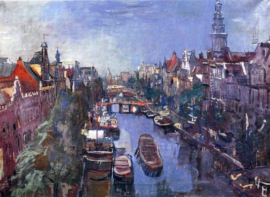 Oskar Kokoschka. Amsterdam