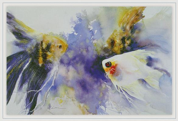 Чжэнь Лин-Куан. Три рыба ангела