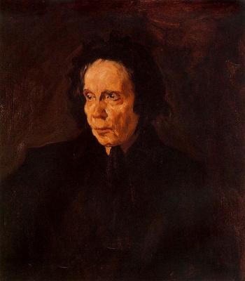 Pablo Picasso. Portrait of aunt Pepa's