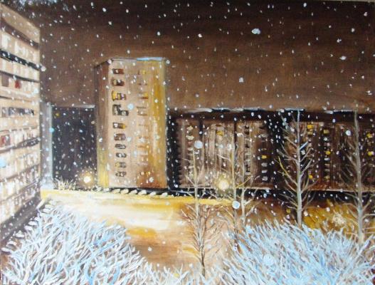 Анатолий Мурзаев. Снежность
