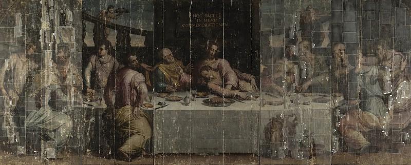 Giorgio Vasari. The last supper