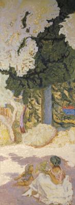 Пьер Боннар. У Средиземного моря (триптих). Правое панно