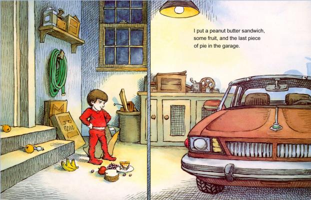 Мерсер Мейер. Иллюстрация к книге Там крокодил под моей кроватью 11