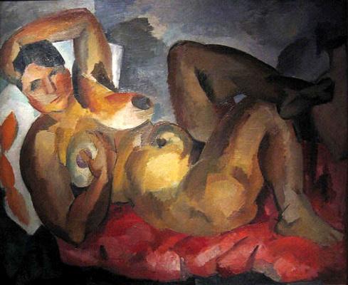 Robert Rafailovich Falk. Nude