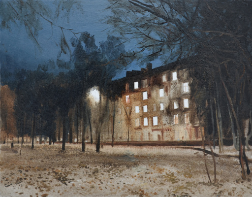 Igor Vladimirovich Mashin. Night Fryazino