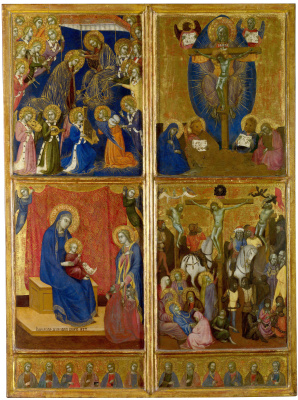 Барнаба да Модена. Сцены Богородицы, Троица, Распятие