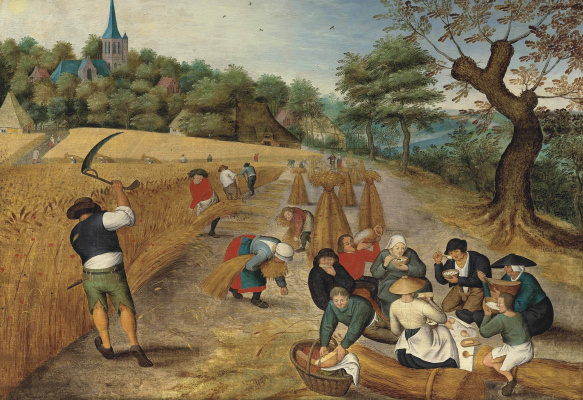 Peter Brueghel The Younger. Summer and harvest