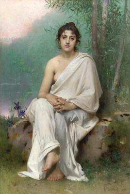 Леон Базиль Перро Франция 1832-1908. Размышление. 1893