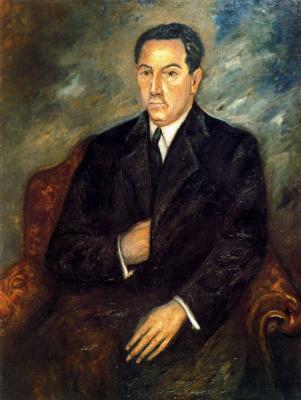 Вирхилио Бланко. Портрет мужчины в кресле