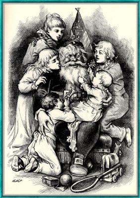 Томас Наст. 48 Счастливого Рождества