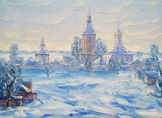 Алексей Иванович Гладких. Русская зима