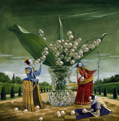 Mikhail Khokhlachov. Bouquet of metaphors