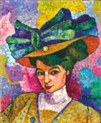 Jean Metzinger. Woman in hat