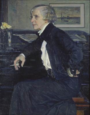 Портрет художницы Е.С. Кругликовой