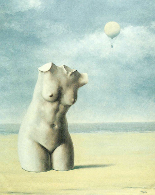 René Magritte. When the hour strikes