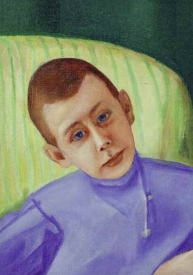 Фавста Николаевна Шихманова. Portrait of a boy (Nikolai Troinitsky)