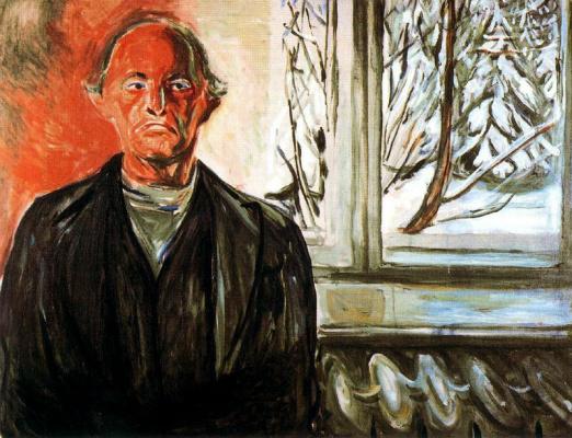 Edvard Munch. Window