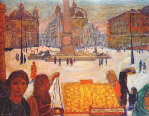 Пьер Боннар. Рим